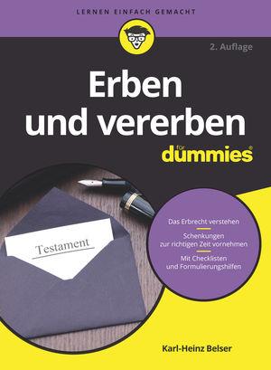 Erben und vererben für Dummies, 2. Auflage