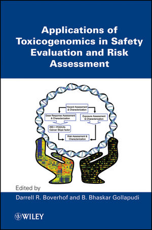 Applications of Toxicogenomics in Safety Evaluation and Risk Assessment (0470449829) cover image