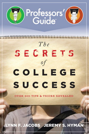 The Secrets of College Success (0470885629) cover image