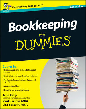 Bookkeeping For Dummies, 2nd Edition, UK Edition