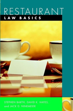 Restaurant: Law Basics (0471402729) cover image