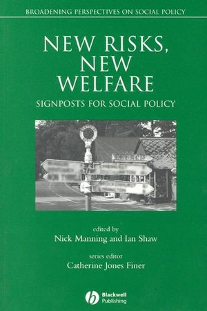 New Risks, New Welfare: Signposts for Social Policy (0631220429) cover image