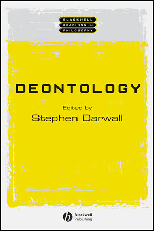 Deontology (0631231129) cover image
