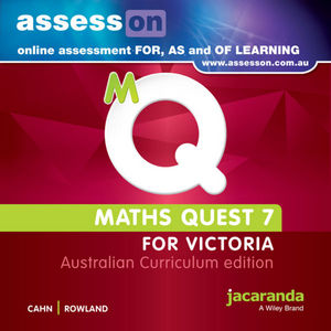 Assesson Maths Quest Australian Curriculum Victoria Edition (Online Purchase)