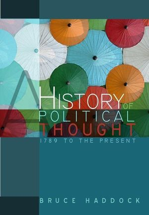 A History of Political Thought: 1789 to the Present (0745631029) cover image
