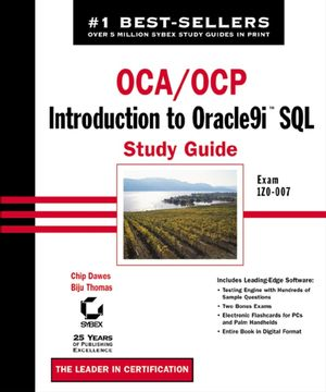 OCA / OCP: Introduction to Oracle9i SQL Study Guide: Exam 1Z0-007 (0782140629) cover image