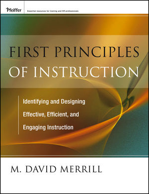 First Principles of Instruction (1118235029) cover image