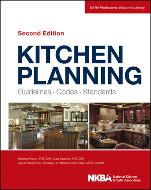 Kitchen Planning: Guidelines, Codes, Standards, 2nd Edition (1118404629) cover image