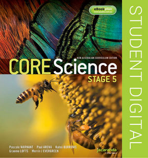 Core Science Stage 5 NSW Australian Curriculum Edition eBookPLUS (Online Purchase)