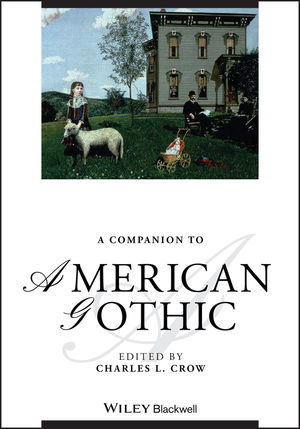 A Companion to American Gothic (1118608429) cover image