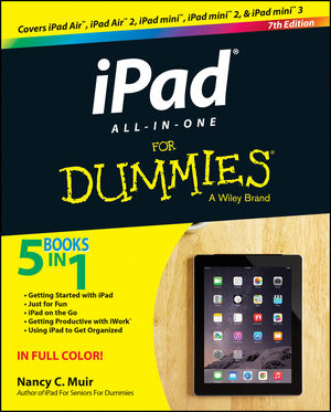iPad All-in-One For Dummies, 7th Edition (1118944429) cover image