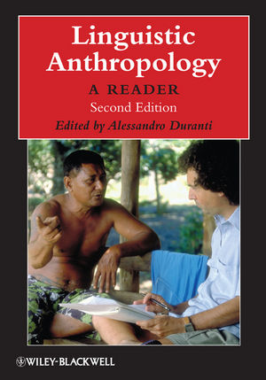 Linguistic Anthropology: A Reader, 2nd Edition (1405126329) cover image
