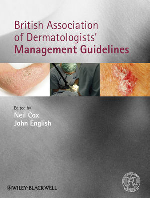 Book Cover Image for British Association of Dermatologists' Management Guidelines