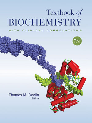 Textbook of Biochemistry with Clinical Correlations, 7th Edition (EHEP000229) cover image