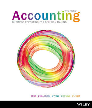 Accounting business reporting for decision making 5ex