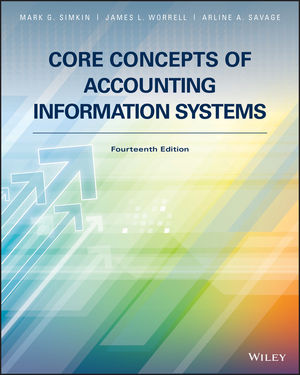 Core Concepts of Accounting Information Systems, 14th Edition (EHEP003729) cover image