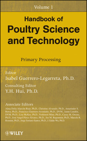 Handbook of Poultry Science and Technology, Volume 1, Primary Processing (047018552X) cover image