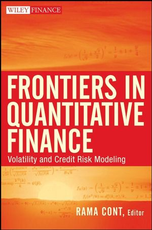 Frontiers in Quantitative Finance: Volatility and Credit Risk Modeling (047029292X) cover image