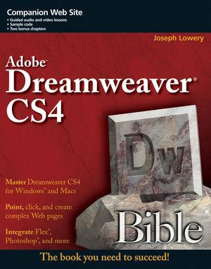 Dreamweaver CS4 Bible (047038252X) cover image