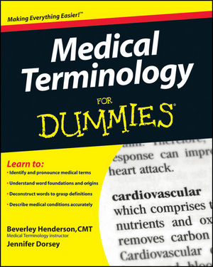 Medical Terminology For Dummies (047045332X) cover image
