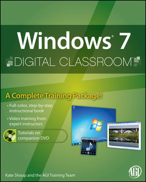 Windows 7 Digital Classroom, (Book and Video Training) (047056802X) cover image