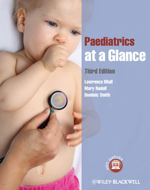 Paediatrics at a Glance, 3rd Edition (047065452X) cover image