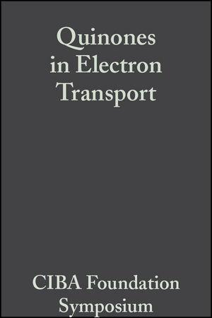 Quinones in Electron Transport