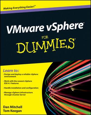 VMware vSphere For Dummies (047076872X) cover image