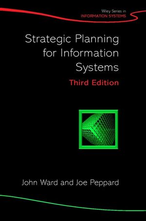 Strategic Planning for Information Systems, 3rd Edition (047085412X) cover image