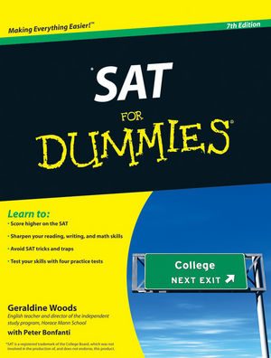 SAT For Dummies, 7th Edition