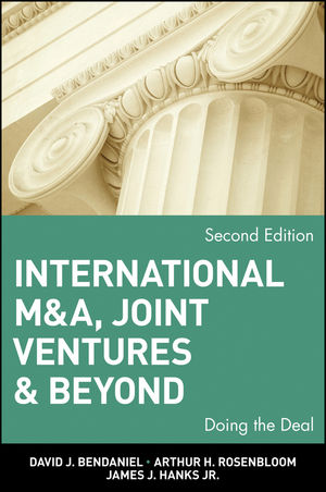 International M&A, Joint Ventures and Beyond: Doing the Deal, 2nd Edition (047102242X) cover image