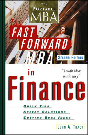 The Fast Forward MBA in Finance, 2nd Edition (047125052X) cover image