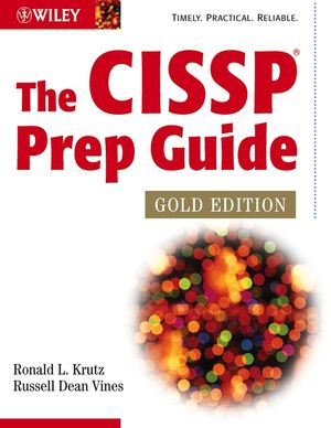 The CISSP Prep Guide, Gold Edition (047126802X) cover image
