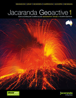 Jacaranda Geoactive 1 NSW Australian Curriculum Geography Stage 4 Fourth Edition learnON & Print