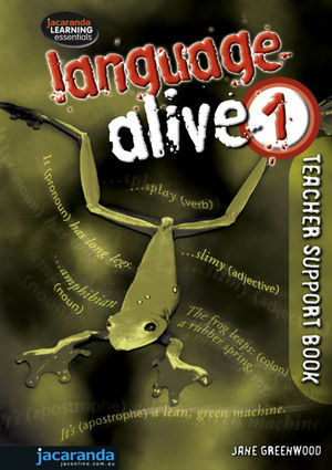 Language Alive 1 Teacher Support Book