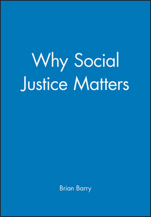 Why Social Justice Matters (074562992X) cover image