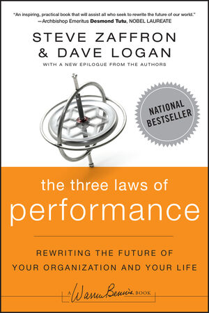 The Three Laws of Performance: Rewriting the Future of Your Organization and Your Life (111804312X) cover image