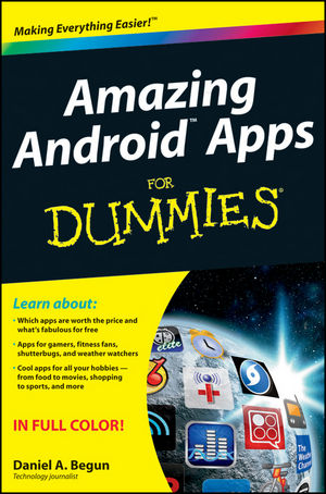 Amazing Android Apps For Dummies (111806142X) cover image