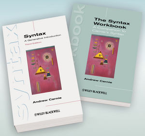 Syntax: A Generative Introduction 3rd Edition and The Syntax Workbook Set (111851792X) cover image