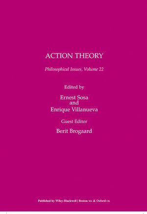 Action Theory, Volume 22
