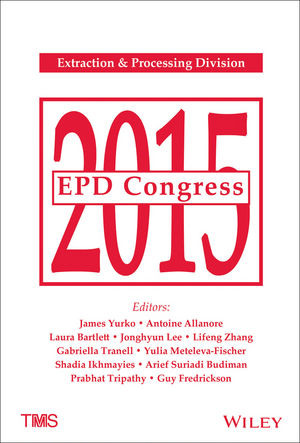 EPD Congress 2015 (111909352X) cover image