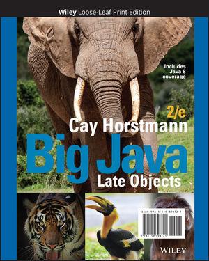 Big Java Late Objects, Loose-Leaf Print Companion, 2nd Edition