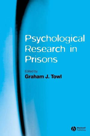 Psychological Research in Prisons (140517322X) cover image