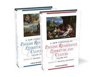 A New Companion to English Renaissance Literature and Culture (140518762X) cover image