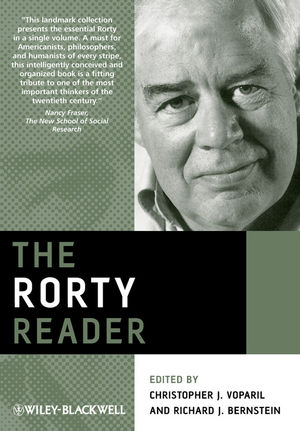 The Rorty Reader (140519832X) cover image