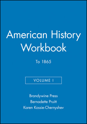 American History Workbook, Volume I: To 1865