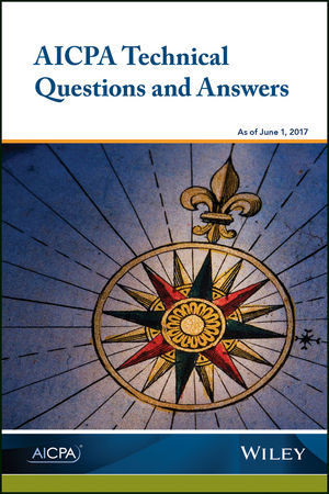 AICPA Technical Questions and Answers, 2017 (194549882X) cover image