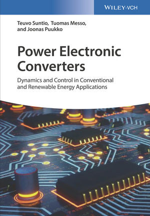 Power Electronic Converters: Dynamics and Control in Conventional and Renewable Energy Applications  (352734022X) cover image