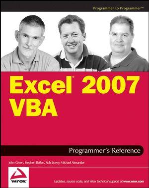 Excel 2007 VBA Programmer
