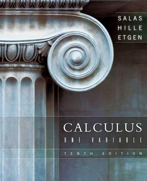 Calculus: One Variable, 10th Edition